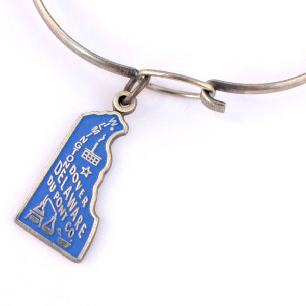 Delaware State Charm Bracelet, Necklace, or Charm Only