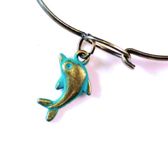 Dolphin Charm Bracelet, Necklace, or Charm Only