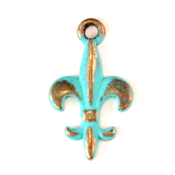 Fleur de Lis Charm Bracelet, Necklace, or Charm Only