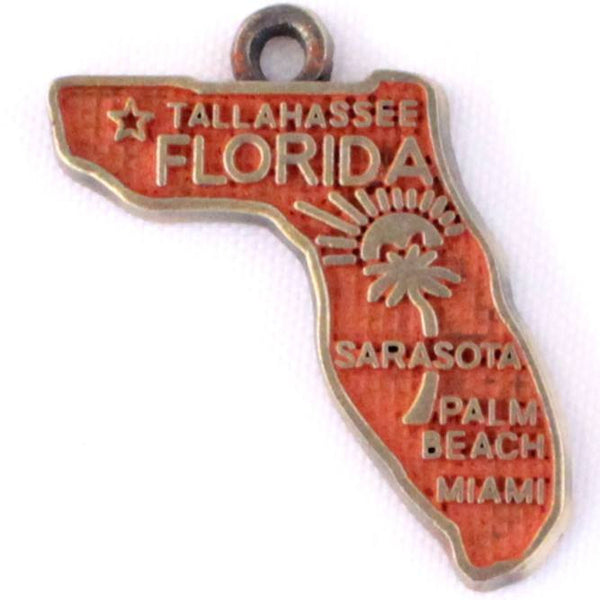 Florida State Charm Bracelet or Necklace