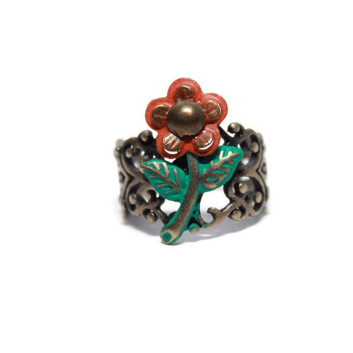 Flower Power Filigree Ring