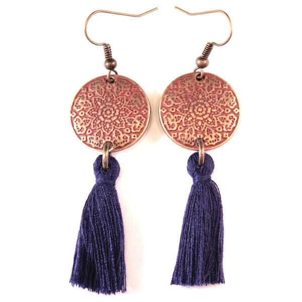 Fringe with Benefits Earrings