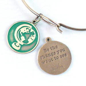 Change Token Charm Bracelet, Necklace, or Charm Only