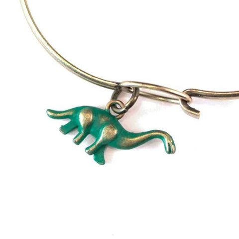 Dinosaur Charm Bracelet, Necklace, or Charm Only