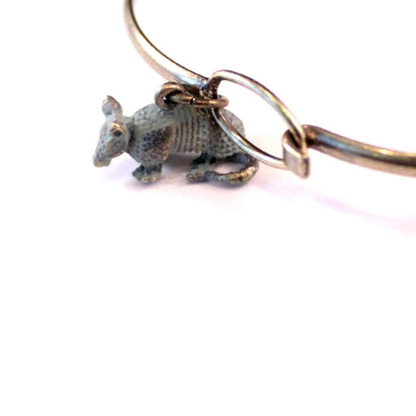 Armadillo Charm Bracelet, Necklace, or Charm Only