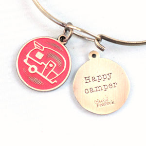 Happy Camper Token Charm