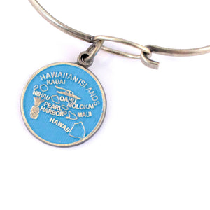 Hawaii State Charm Bracelet or Necklace