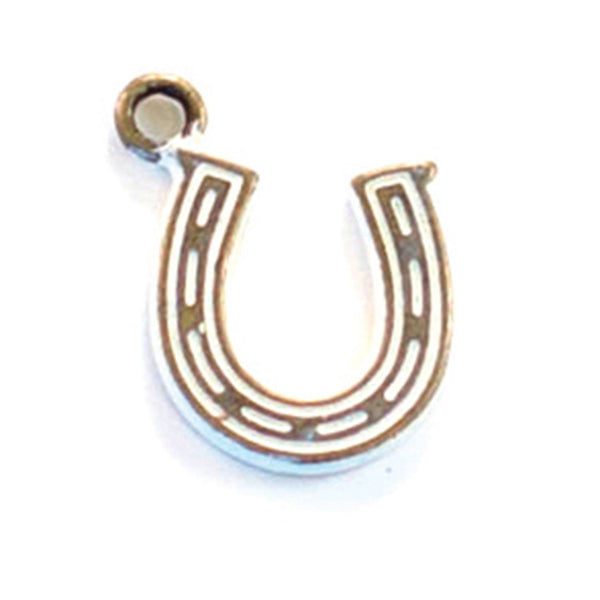 Horseshoe Charm Bracelet, Necklace, or Charm Only
