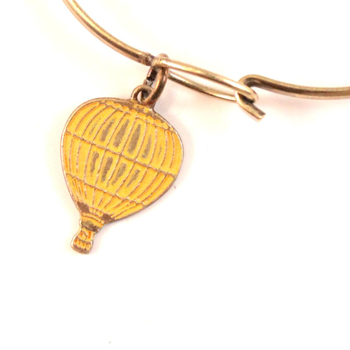 Hot Air Balloon Charm Bracelet, Necklace, or Charm Only