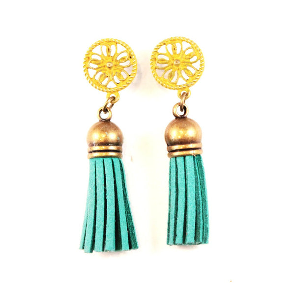Jubilant Tassel Earrings