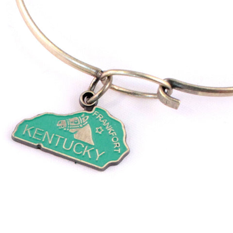 Kentucky State Charm Bracelet, Necklace, or Charm Only
