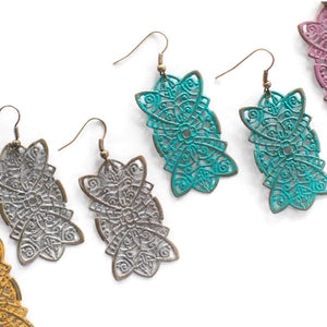 Kindness Filigree Earring