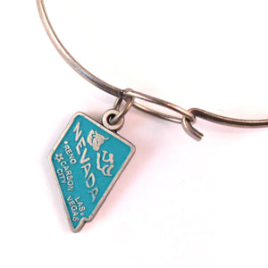 Nevada State Charm Bracelet, Necklace or Charm only