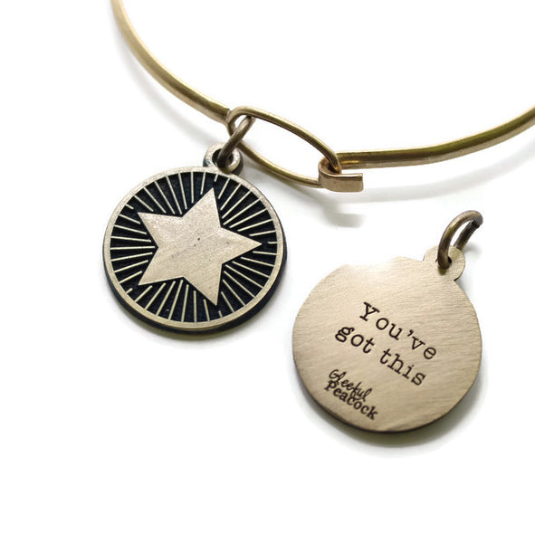 You Got This Reminder Token Bracelet, Necklace, or Charm Only