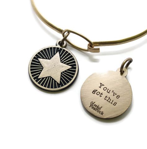 You Got This Reminder Token Bracelet or Necklace