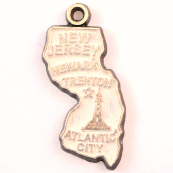 New Jersey State Charm Bracelet, Necklace, or Charm only