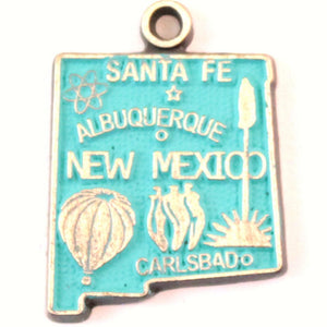 New Mexico State Charm Bracelet or Necklace