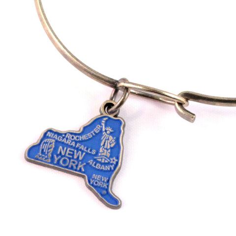 New York State Charm Bracelet, Necklace, or Charm only