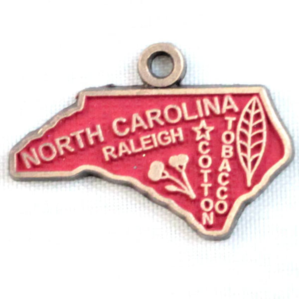 North Carolina State Charm Bracelet, Necklace, or Charm only