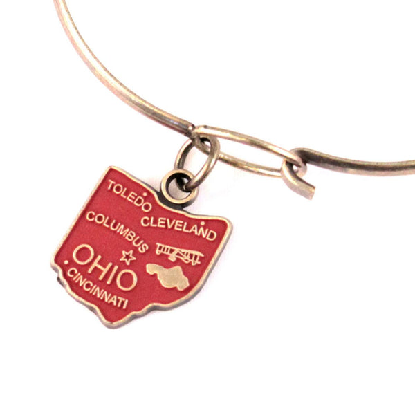 Ohio State Charm Bracelet or Necklace