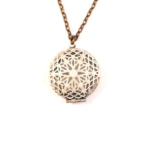Oil Diffuser Locket Necklace