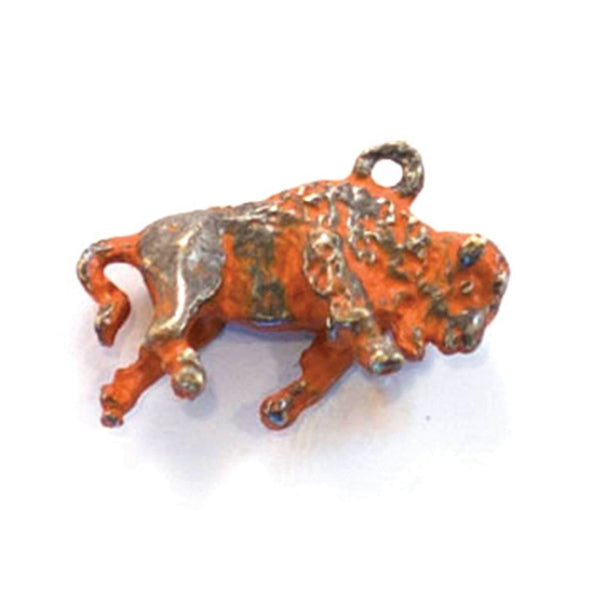 Buffalo Charm Bracelet, Necklace, or Charm Only