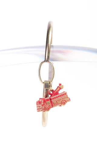 Firetruck Charm Bracelet, Necklace, or Charm Only