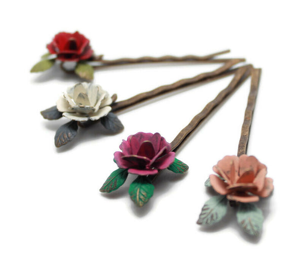 Rose Bobby Pin