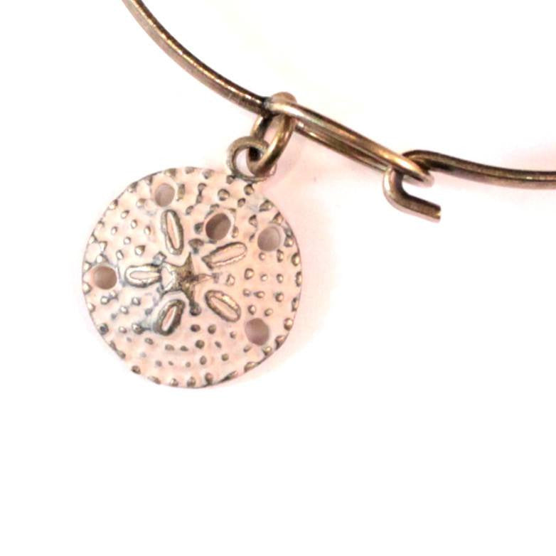 Sand Dollar Charm Bracelet or Necklace