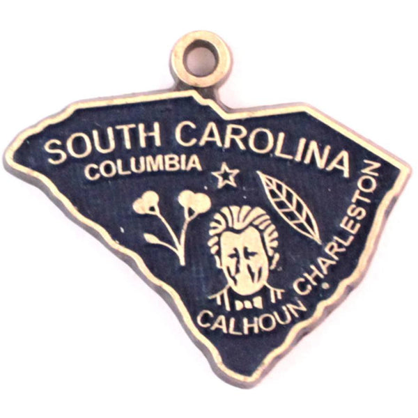 South Carolina State Love Charm Bracelet, Necklace, or Charm only