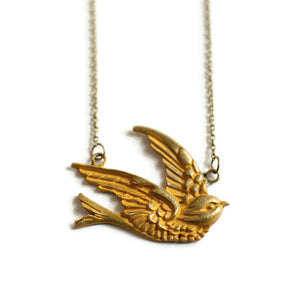 Sparrow Necklace - LAST CHANCE SPECIAL!