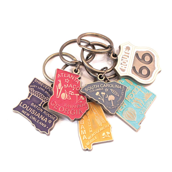 State Keychains & Route 66