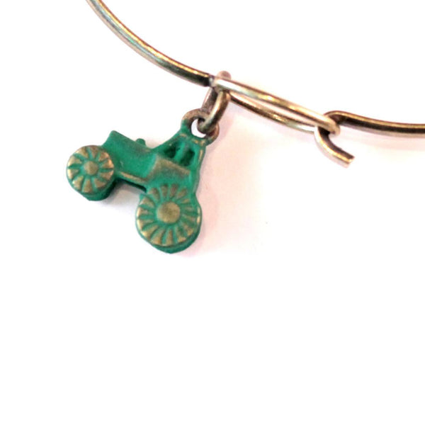 Green Deere Tractor Jewelry