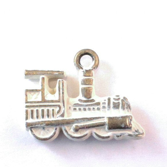 Train Charm Bracelet or Necklace