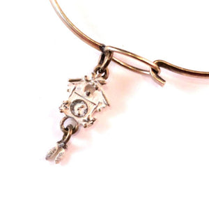 Cuckoo Clock Charm Bracelet, Necklace, or Charm Only