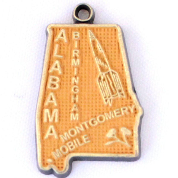 Alabama State Charm Bracelet, Necklace, or Charm Only