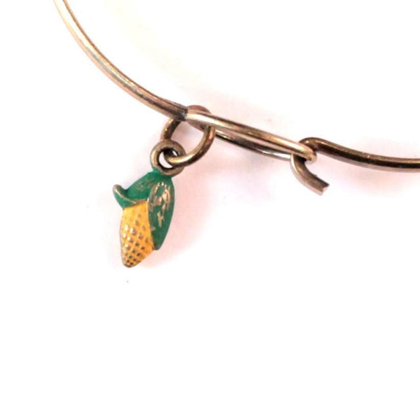 Corn Charm Bracelet, Necklace, or Charm Only