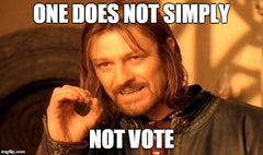 One does not simply NOT vote - meme