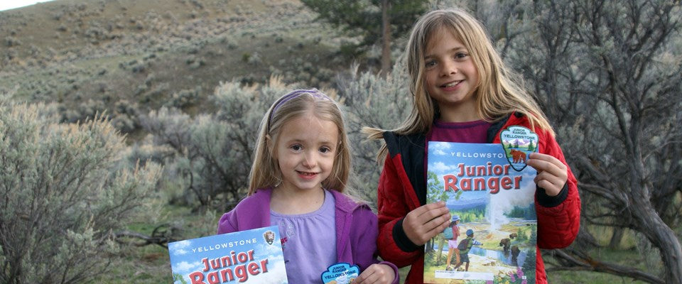Two Junior Ranger Girls