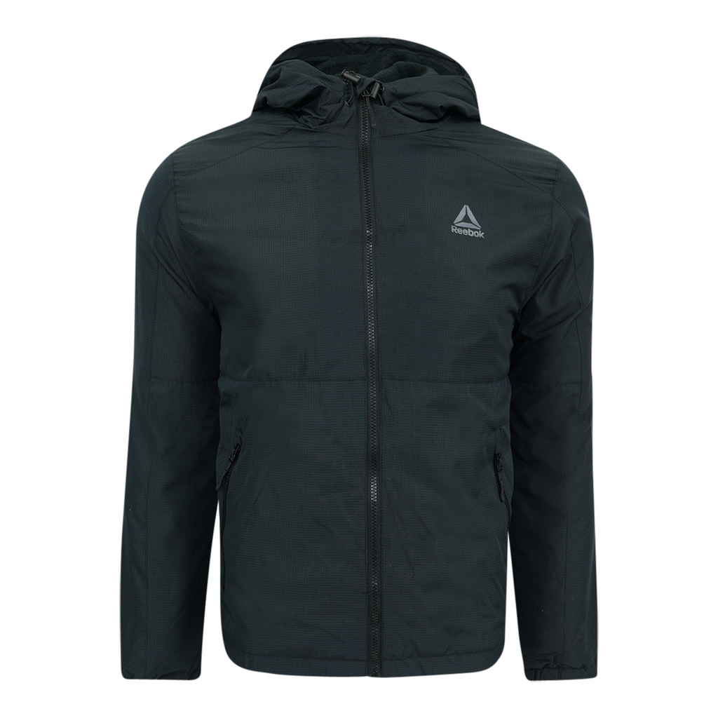 Reebok Men's Fleece Lined Windbreaker Jacket