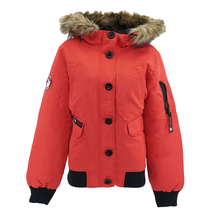 Canada Weather Gear Women's Rib Bottom Parka