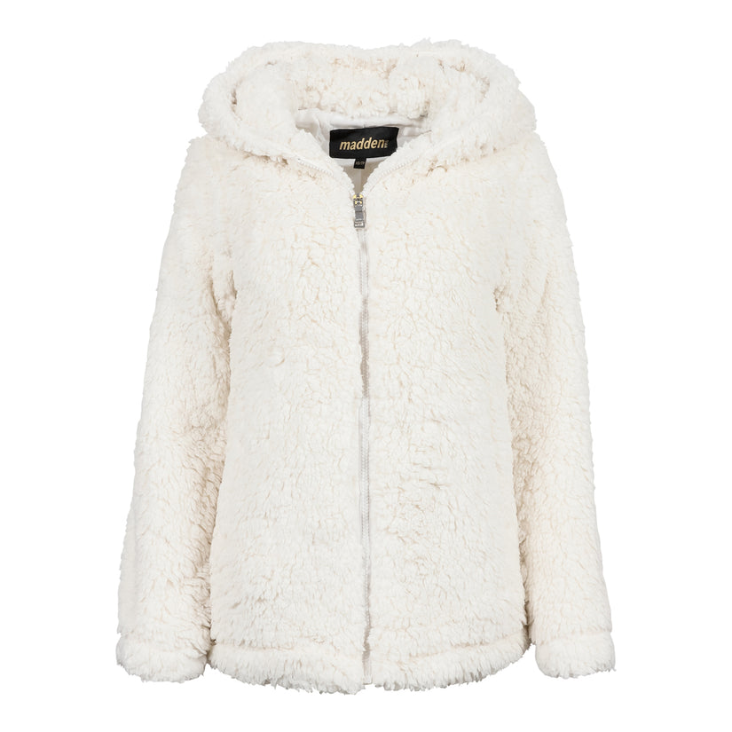 Madden Girl Women's Sherpa Zip Up Jacket! .99 at Proozy with code: BOMB69-1299
