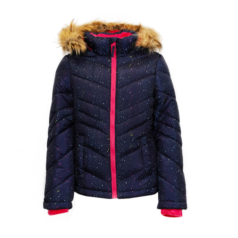 Hanes SO Girl's Puffer Jacket (Various Colors)