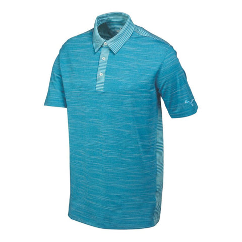 Cloisonne Heather PUMA Men's Polo Shirt