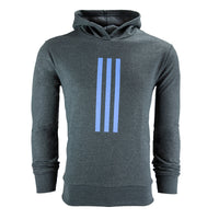 adidas Men's Vertical 3-Stripe Performance Pullover Hoodie