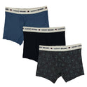 3-Pack Lucky Brand Mens Stretch Boxer Briefs