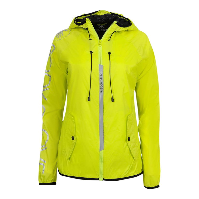 Body Glove Women's Windbreaker Light Weight with Perforated Lining Jacket