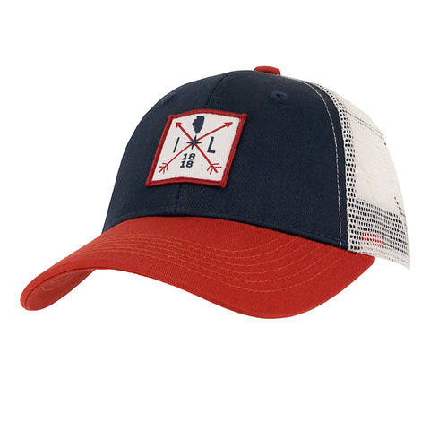 Blue/ Red/ White Cirque Mountain Hat