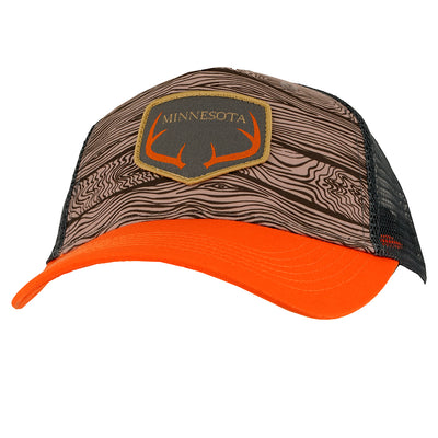 Minnesota - Orange/Woodgrain-