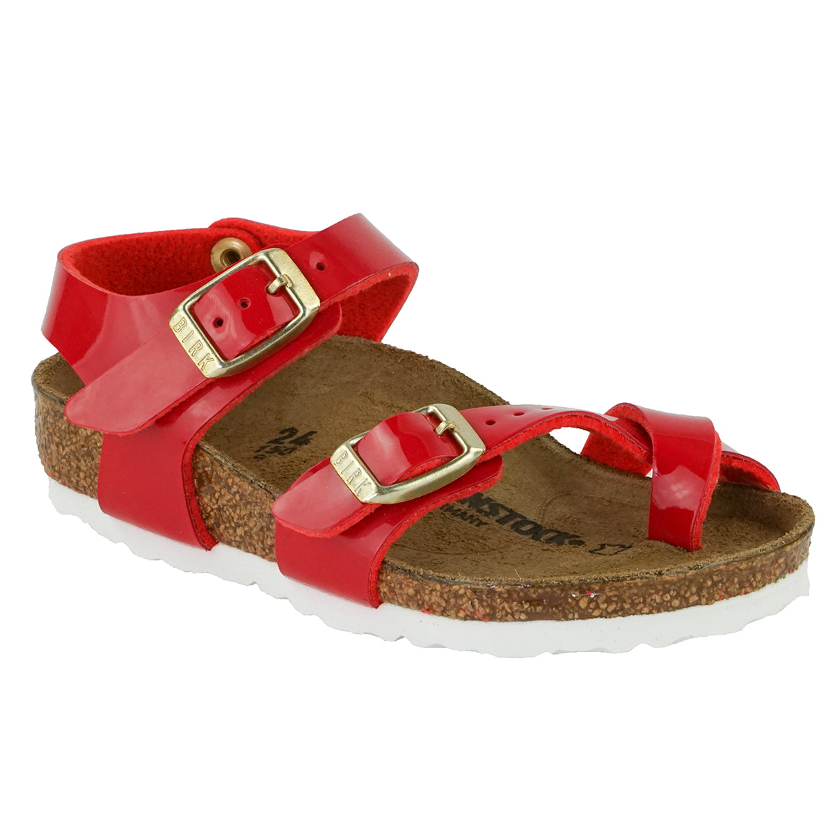 Tango Red Patent BIRKENSTOCK Kid's Shoes